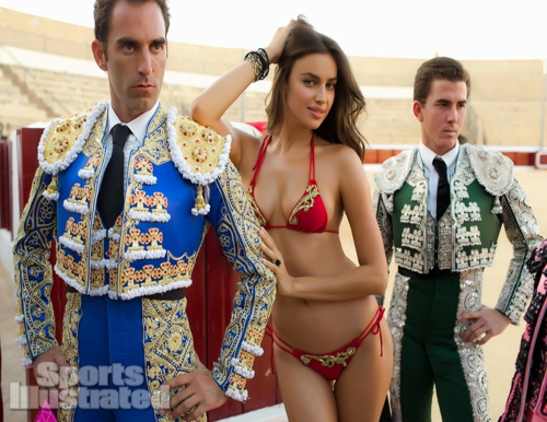 Irina Shayk_Sports Illustrated Swimsuit Spain Spread