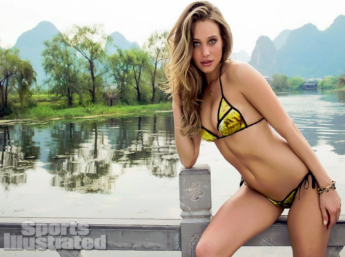 Hannah Davis Sports Illustrated Swimsuit Dolcessa Swimwear Phoenix Fashion Week
