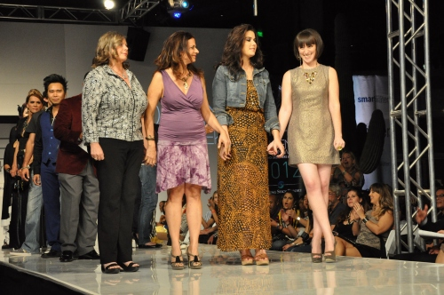 Bri Seely Phoenix Fashion Week 2012