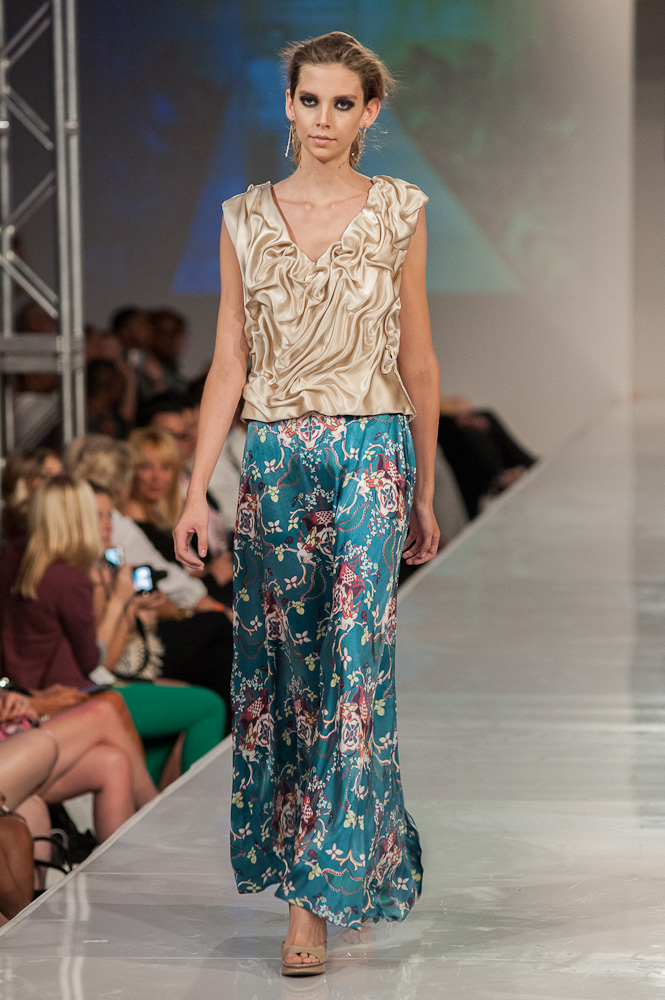 Bradon McDonald pants look Project Runway designer Phoenix Fashion Week 2013