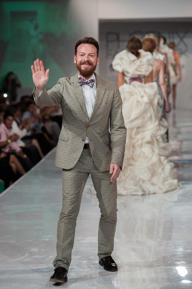 Bradon McDonald Phoenix Fashion Week Project Runway designer runway show