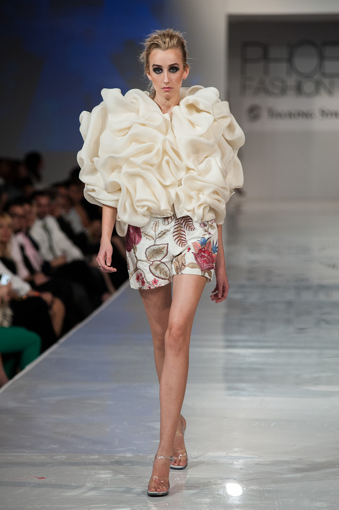 Bradon McDonald Project Runway designer Phoenix Fashion Week 2013
