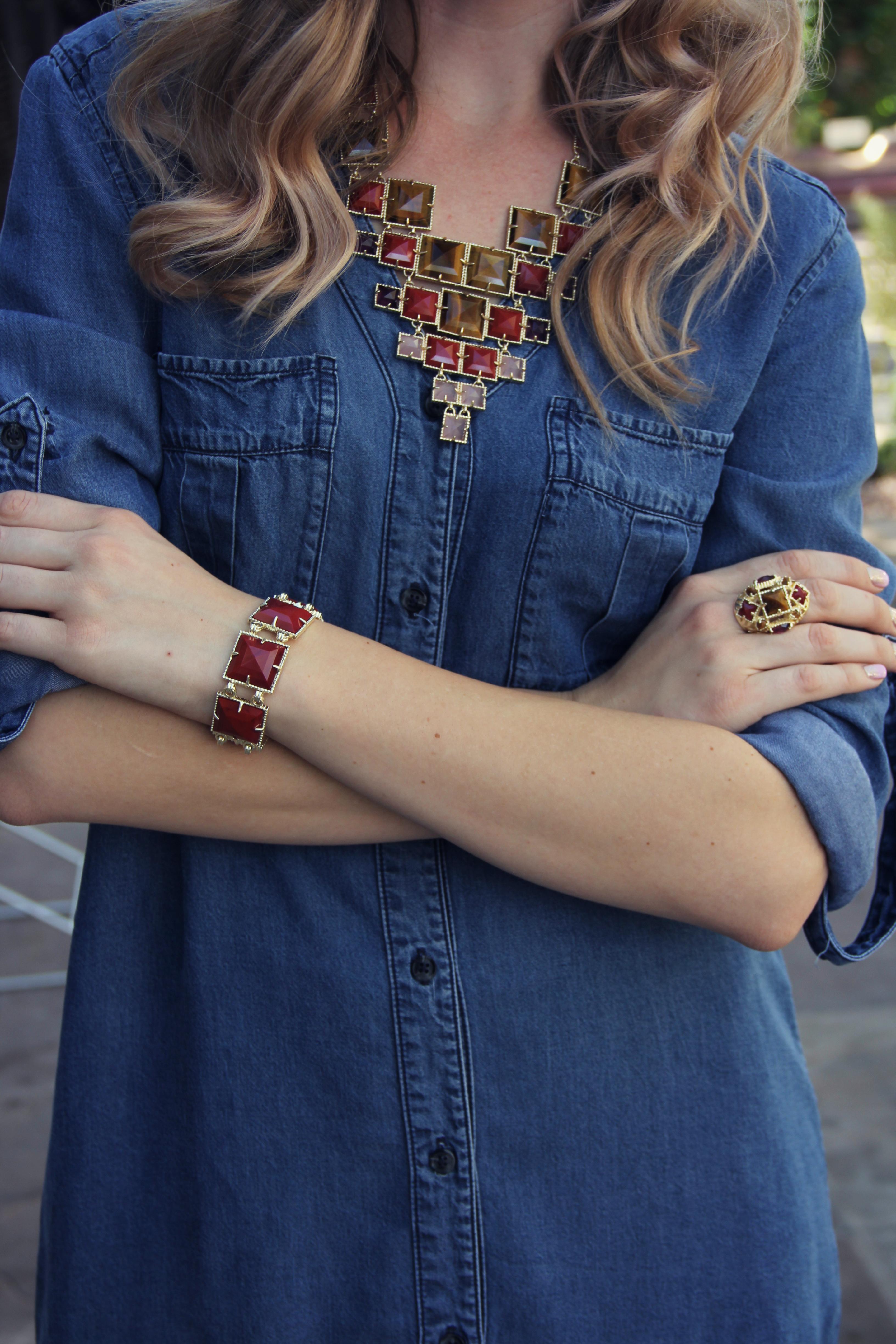 Kendra Scott jewelry Tiger Stone