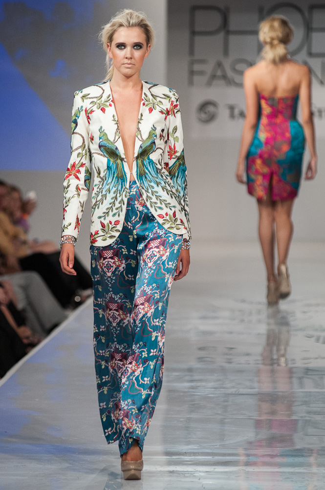 Madison Brown Bradon McDonald Phoenix Fashion Week 2013 Project Runway designer
