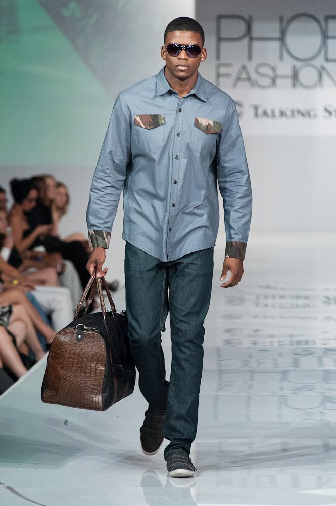 Medium Apparel Button Down Phoenix Fashion Week 2013