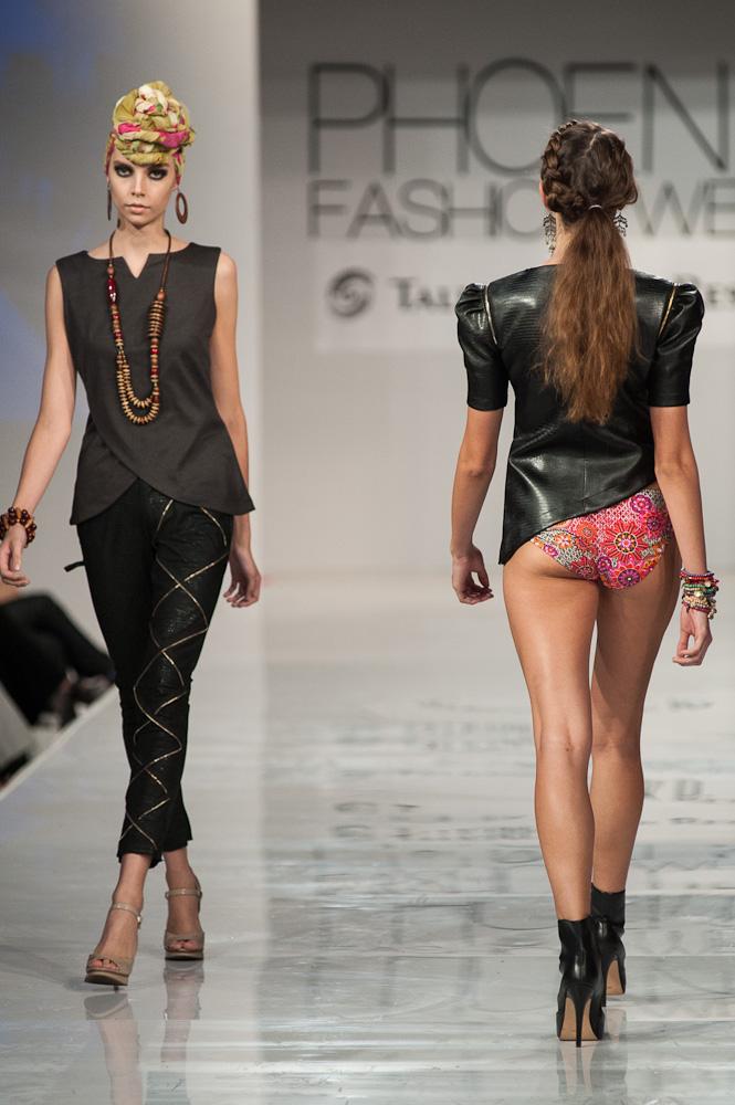 Phoenix Fashion Week 2013 Black Russian Label