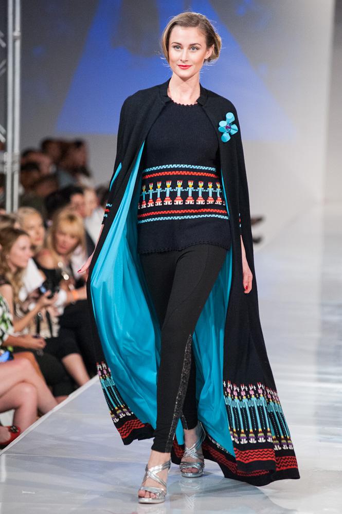 Robert Black Coat Phoenix Fashion Week 2013 Thursday