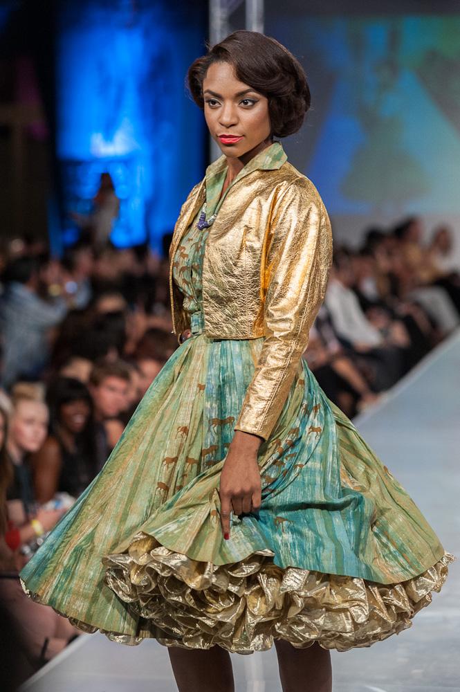 Robert Black Fashion by Robert Black vintage fashion phoenix fashion week 2013
