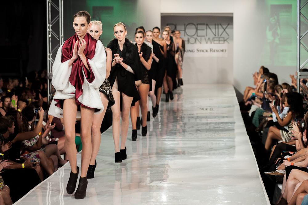 Shawl Dawls Finale Phoenix Fashion Week 2013