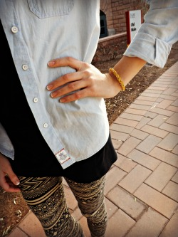 Ettika Glistening Glimmer Tan Braid Bracelet Skyler Scott