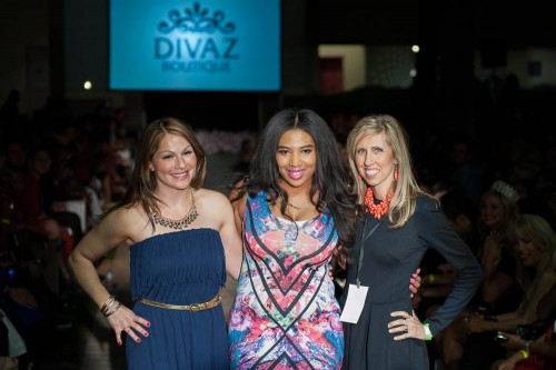 Jenesis Laforcarde and Dolcessa and Divaz Boutique Spring into Fashion 2014 16