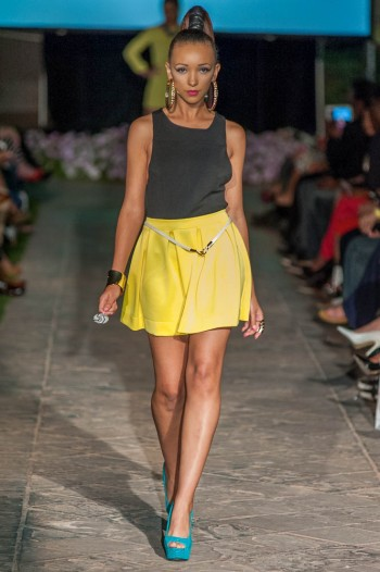 Jenesis Laforcarde and Dolcessa and Divaz Boutique Spring into Fashion 2014