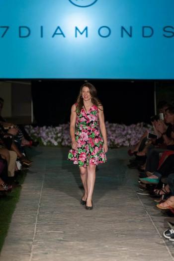 Jessica Hunter 7 Diamonds Spring into Fashion 2014
