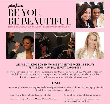 Neiman Marcus Beauty Campaign Contest
