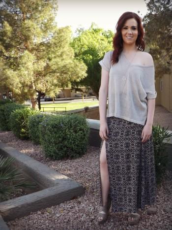 Aubrey Long Fashion Blogger AZ