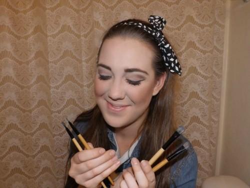 makeup brush tutorial eye makeup pic