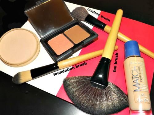 makeup brush tutorial face brushes