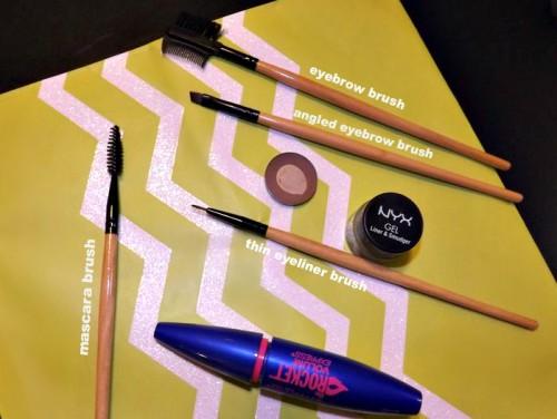 makeup brush tutorial mascara